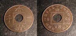 Hong Kong Mint one mil coin 2