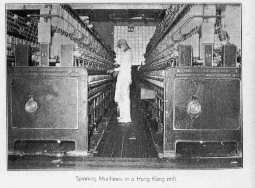 Reference: South China Textiles Ltd. mid 1950s (spinning production) Source: J. M. Braga (1957): Hong Kong Business Symposium. South China Morning Post, Hong Kong.