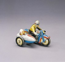 Toy motorcycle - Made in HK 1960s