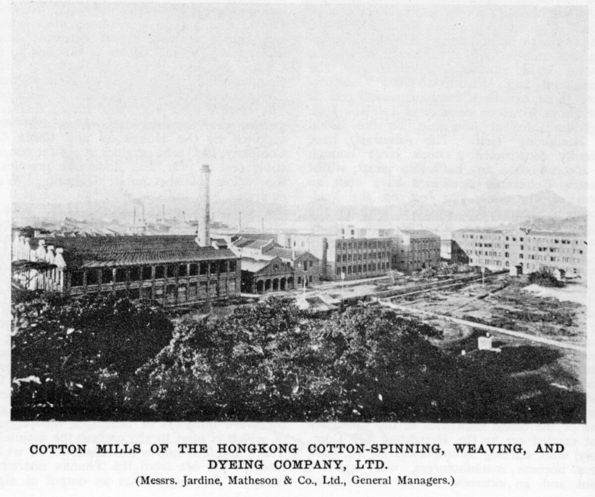 """Jardine Matheson Who Owns: 1889 """"builders"""" Of Hongkong Cotton"""