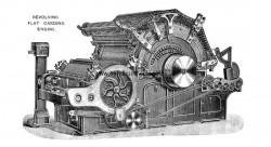 Revolving Flat Carding Engine (1903)