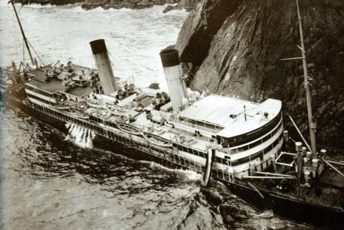 Chiyo Maru wreck Lamma island 1916