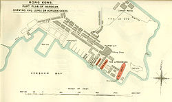 Plan of Kowloon Dockyards Early 1900s