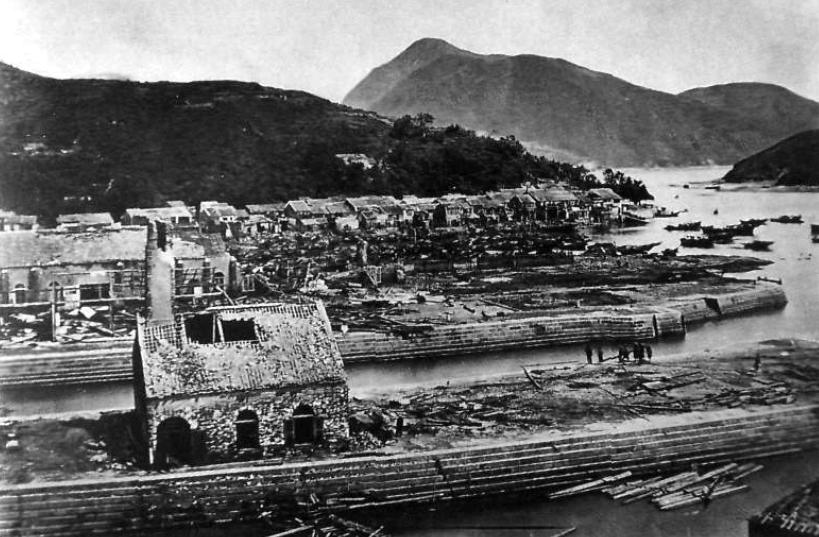 Aberdeen Docks 1874 after