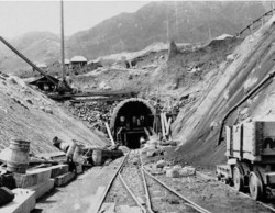 Beacon Hill Tunnel South Portal 1909