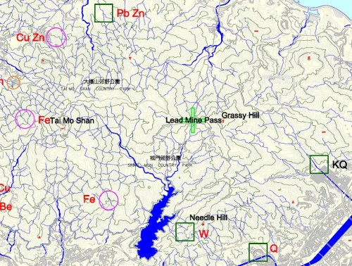 CEDD Mine Locations