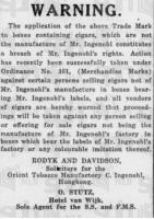 Orient Tobacco Manufactury, HK 4