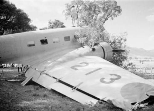 1940 Sep Crash Kwanti Race Course