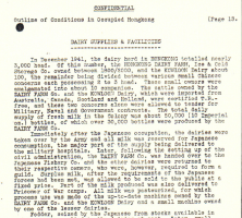 Dairy Supplies a BAAG 1945 report