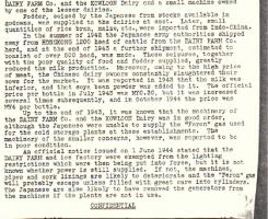 Dairy Supplies b BAAG 1945 report
