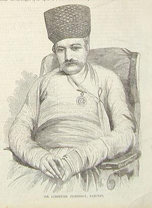 Sketch of Jejeebhoy 1857