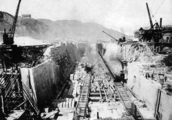 Tai Koo Graving Dock  under construction 1906 HK Museum of History Provisional Urban Council