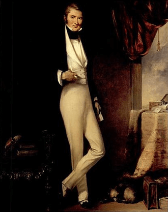 William Jardine Portrait by George Chinnery 1820s
