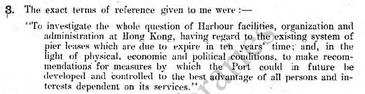 1941 Hong Kong Port Report