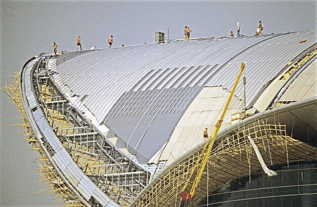 Hong Kong-Wanchai-Convention & Exhibition Centre-007-Roof Construction-1997