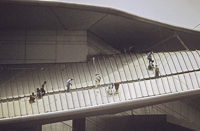 Hong Kong-Wanchai-Convention & Exhibition Centre-009-Roof Construction-1997