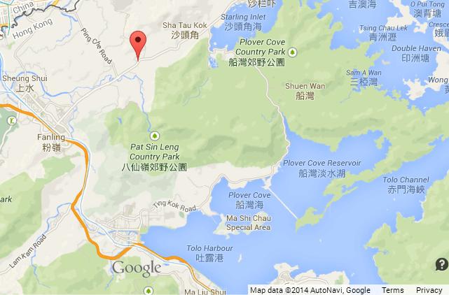 Lard Factory map 3 Tai Tong Wu Village