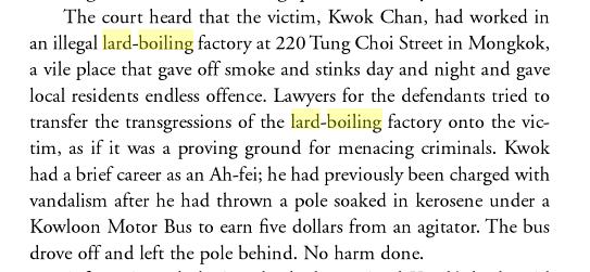 Lard - murder report