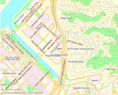 Nui Po Shan Quarry - Lands Dept Map - Thomas Ngan