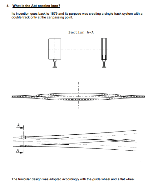 Peak Tram - Abt Passing Loop
