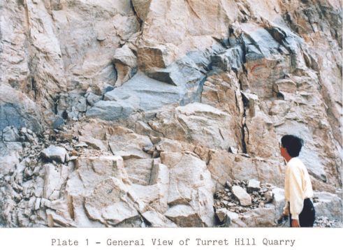 Turret Hill image 1 Quarry Report 1987