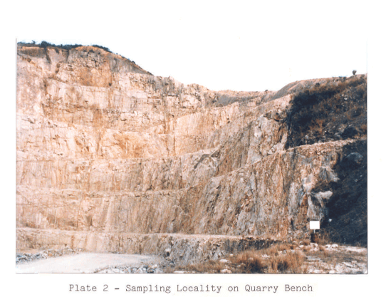 Turret Hill image 2 Quarry Report 1987