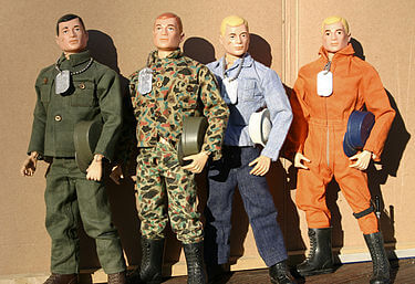 GI Joe Original action men