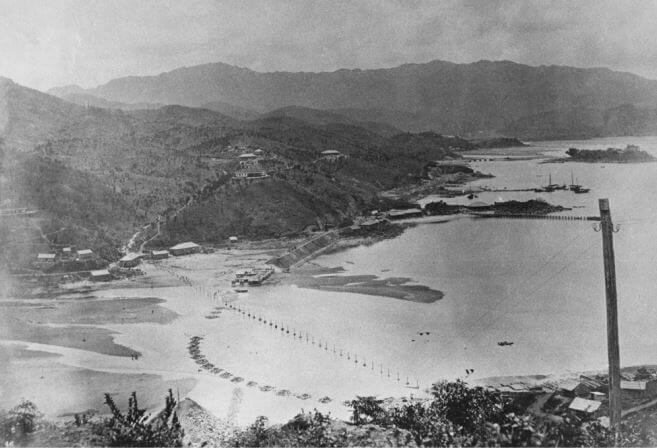 KCR Construction at Tai Po Kau 1906 HKU Libraries