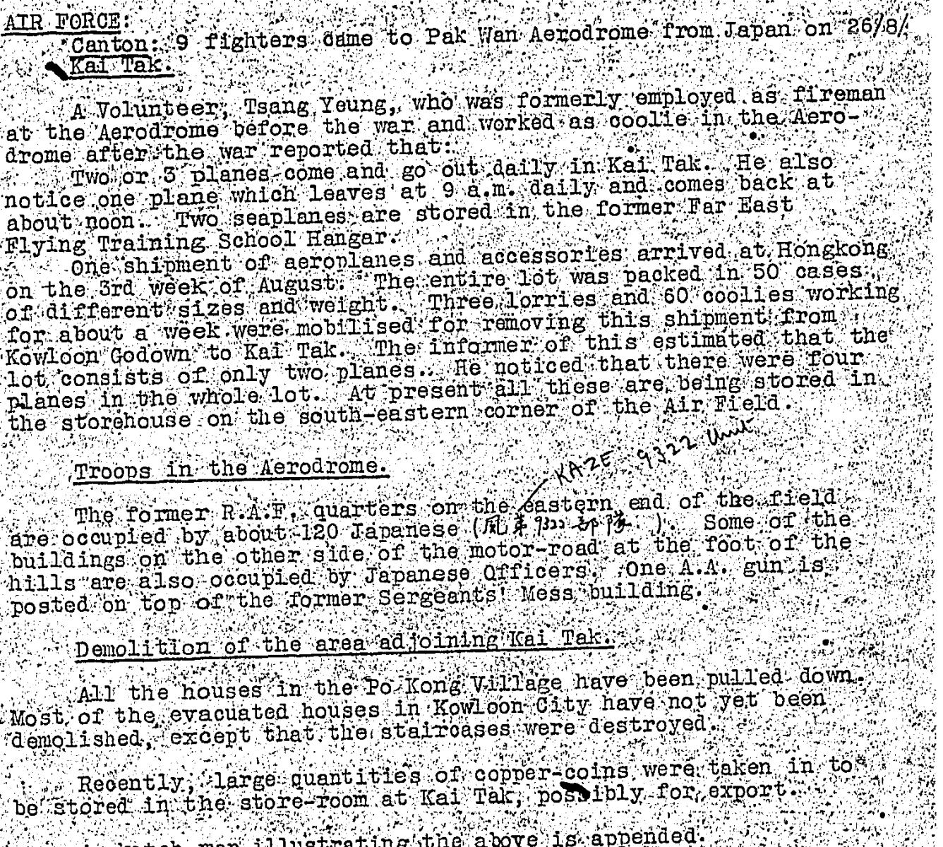 Kai Tak BAAG 14.8.1942