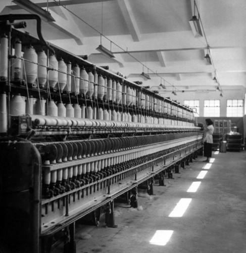 NANYANG COTTON MILL-June 1948-machinery