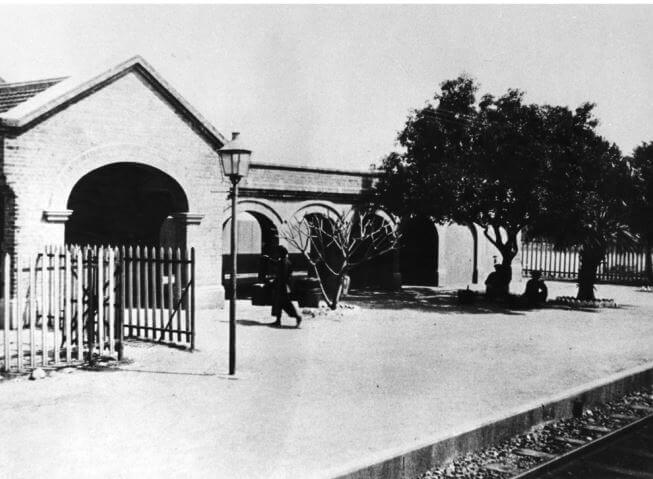 Tai Po Kau Railway Station 1921 image Courtesy - HKU Libraries HK Memory