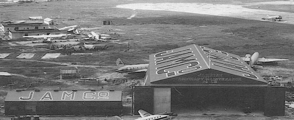 Kai Tak JAMCO hangar c1949