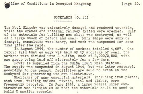 Kowloon Dock BAAG report 2