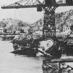 World War Two -1945 BAAG report on occupied Hong Kong - dockyards