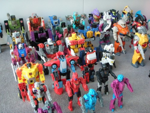 Transformers toys image