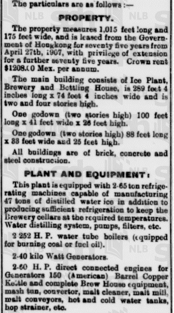 Oriental Brewery liquidation 2 Straits Times 11.1.1914