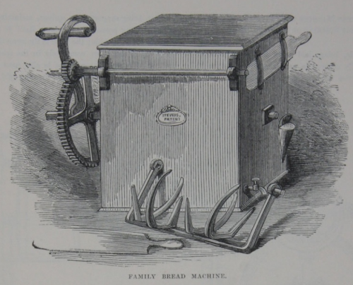 Stevens' Patent Bread Machine - 1862 London Exhibition