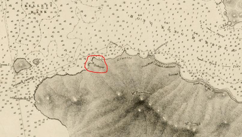 Tai Shek-ha Belcher Map