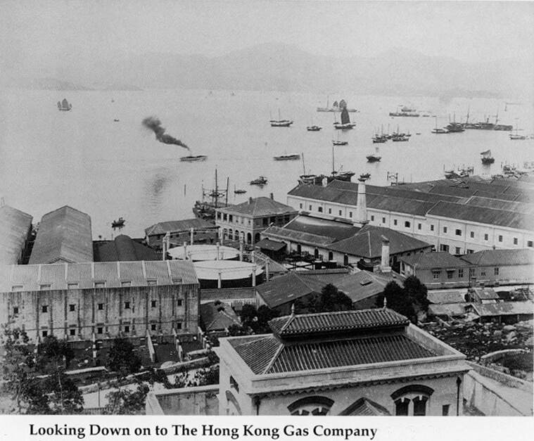 Hong Kong Gas Company Western_District-circa_1890 IDJ