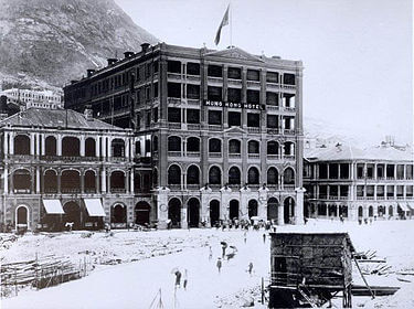 The Hong Kong Hotel c1900