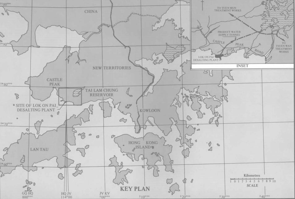 Lok On Pai - desalting plant map