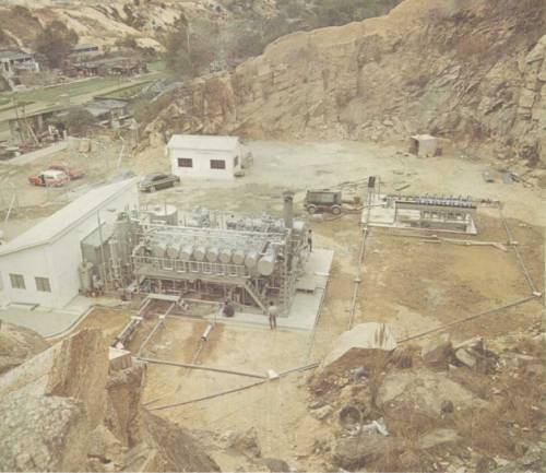 Lok On Pai - experimental distillation plant 1971