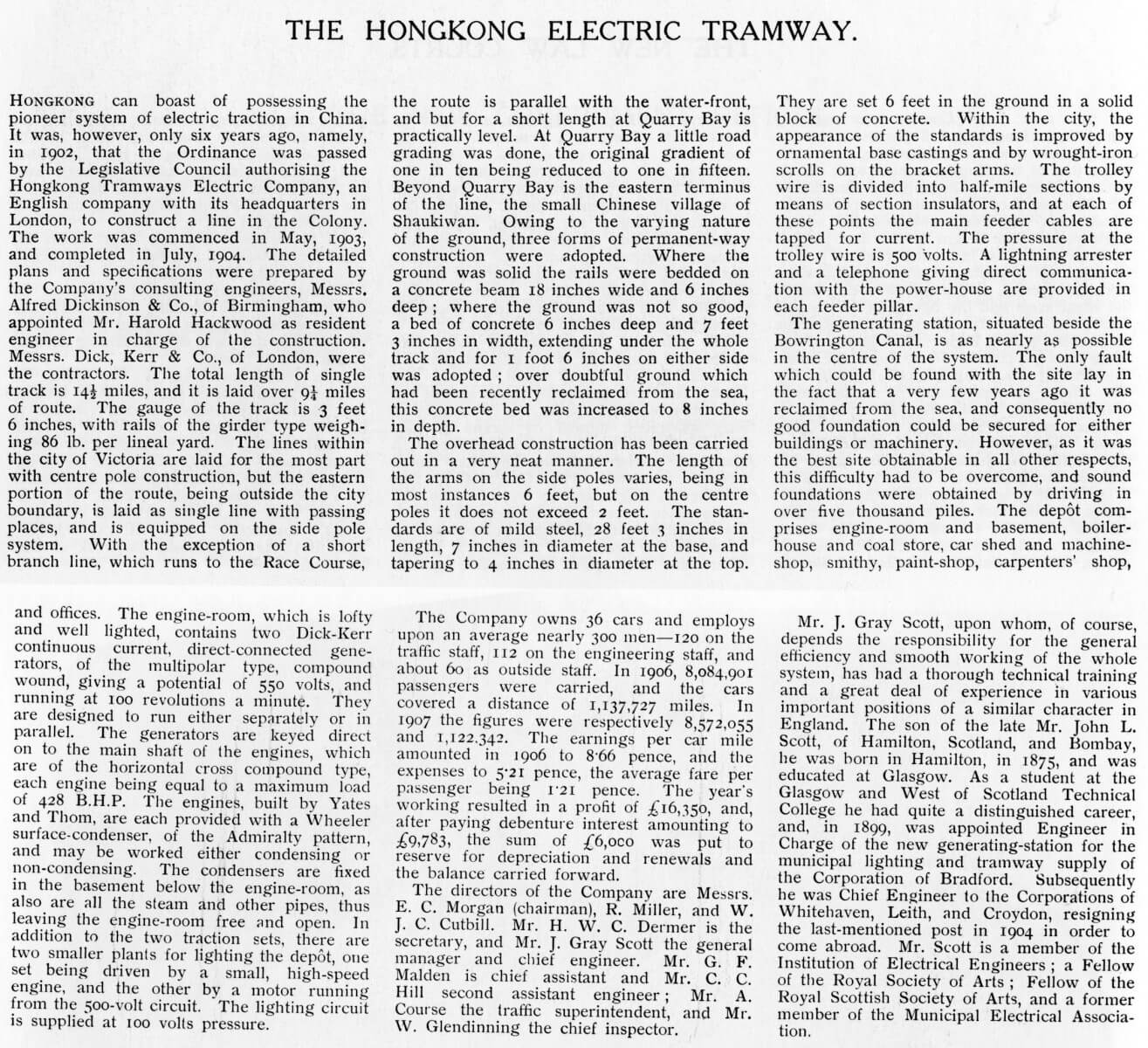 Tramways a Hong_Kong_Electric_Tramway-from_20th_Century_Impressions_book