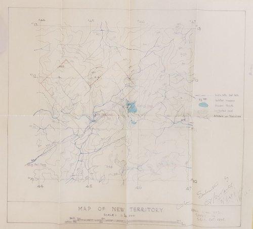 1948 Prospecting Map