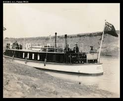 Asiatic Petroleum Company Arrow company houseboat c1920.1930s