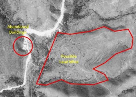 Lead Mine Pass Mine - Tymon map