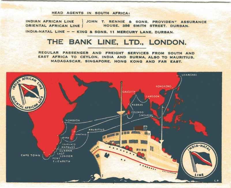 Bank Line Advert