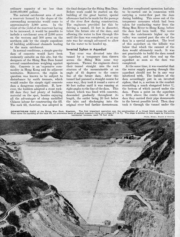 Hong Kong Water Supply 1935 Page 2