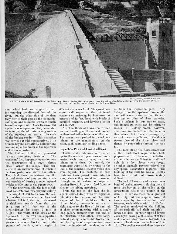 Hong Kong Water Supply 1935 Page 3