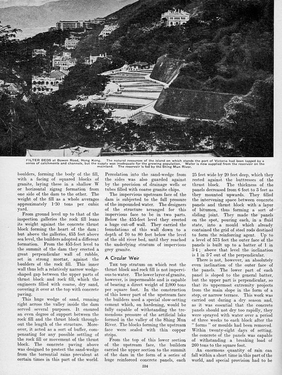 Hong Kong Water Supply 1935 Page 4